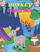 DONKEY Coloring Book For Boys Ages 8-12