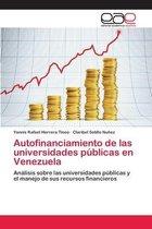 Autofinanciamiento de las universidades publicas en Venezuela
