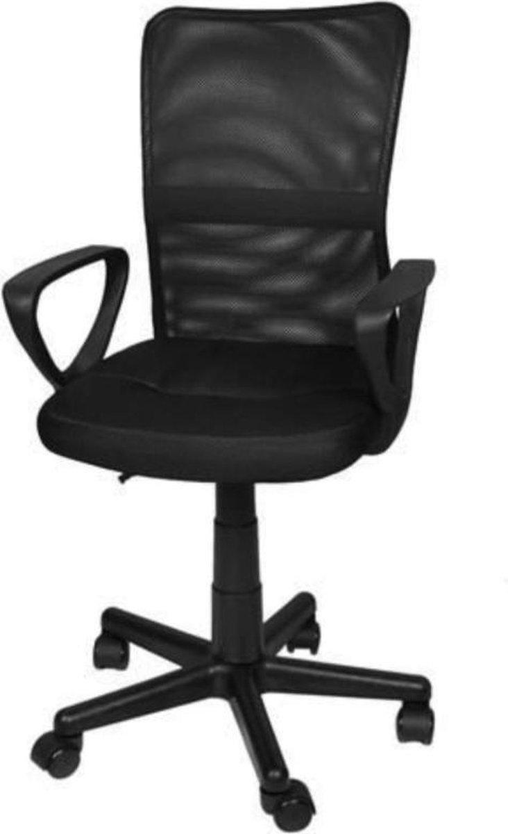 WESTWALL Berlin bureaustoel - ergonomisch - verrijdbaar - zwart