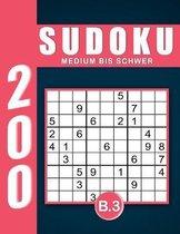 Sudoku Erwachsene Medium Bis Schwer Band 3