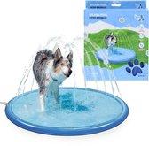RelaxPets - Coolpets - Pool Sproeier - Spelenderwijs Afkoelen - Zwembad met Sproeier - Sprinkler - 100cm