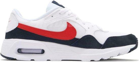 Nike Air Max SC Men's white-University red