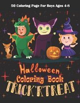 Trick'R'Treat Halloween Coloring Book