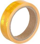 Reflecterende tape - ORANJE - 3 meter - 25mm