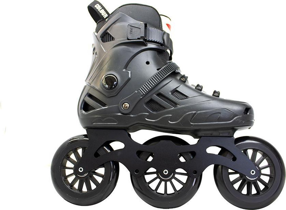 Colourblade Inline Skate - RX6 Fitness Skate - Skeeler - Maat 37 - Unisex - Zwart
