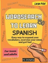 Wordsearch to Learn Spanish