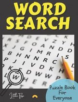 Word Search Puzzle Book For Everyone