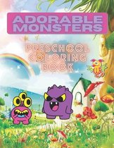 Coloring Book for Kids Funny Monsters