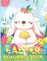 Happy Easter Coloring Book: