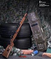 Kar98 COD Warzone - Call of Duty - PUBG - Wapen - Sniper Rifle - Militair - Leger - 1025 Bouwstenen Technic Bouwpakket Creator - Toy Brick Lighting