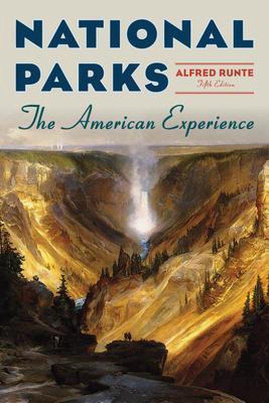 Boek cover National Parks van Alfred Runte (Paperback)