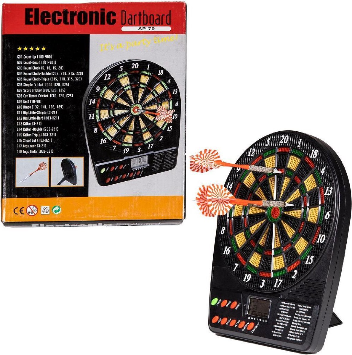 Mini Electronisch Dartboard