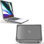 Mobigear Shockproof Case voor de MacBook Pro 16 inch A2141 - Zwart