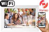 "Denver PFF-1014 White - 10.1"" digitale fotolijst - fotokader - FRAMEO software 16GB - IPS touchscreen - Wit"