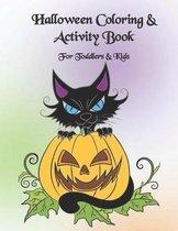 Halloween Coloring & Activity Book