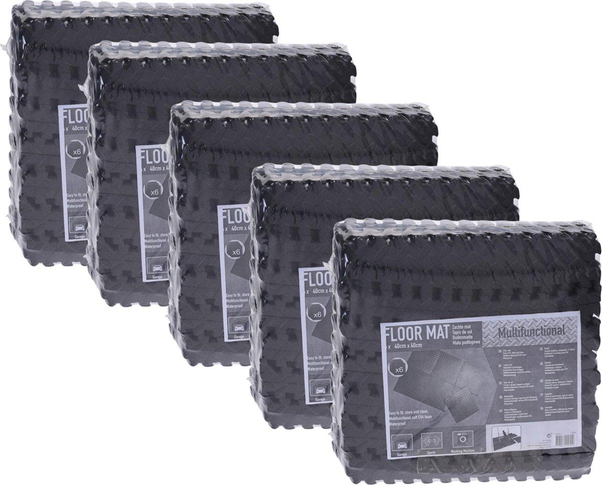 Zwembadtegels - Voordeelverpakking - 5 verpakkingen van 6 tegels - 40x40 cm