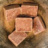 Amberblokje incl organza zakje (originele Amber geurblokjes uit Marrakesh) 5 stuks !!