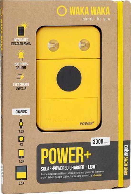 WakaWaka Power+ Outdoor Solar Powerbank - Geel (new)