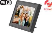 Denver PFF-711 Black - Digitale Fotolijst - Fotokader - 7 inch - IPS touchscreen - met Frameo software - Zwart