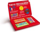 Tony's Chocolonely Cadeaudoos - 3 Chocolade Repen