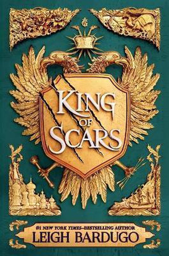 Boek cover King of Scars van Leigh Bardugo (Paperback)