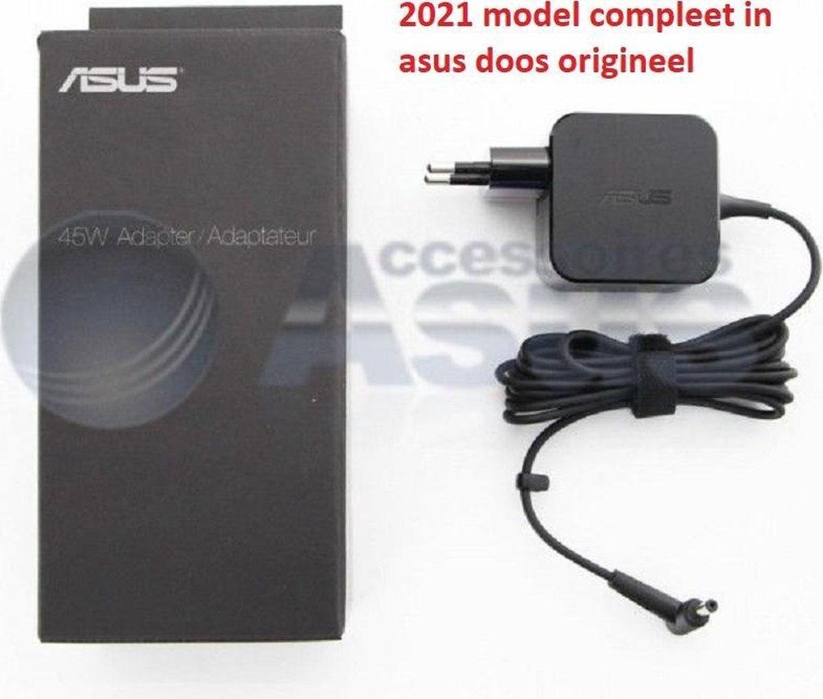 ASUS adapter 2.37a 45w 19v adapter 4mm voeding oplader