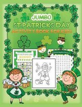 Jumbo St. Patrick's Day Activity book For Kids