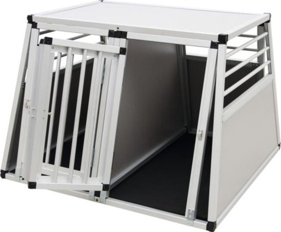 Aanbieding! Dieren Transportbox Aluminium 92x97x68 cm