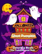 Halloween Ghost Pumpkin Coloring Book for Toddlers and Kids