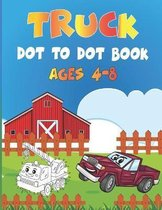 Truck Dot to Dot book Ages 4-8