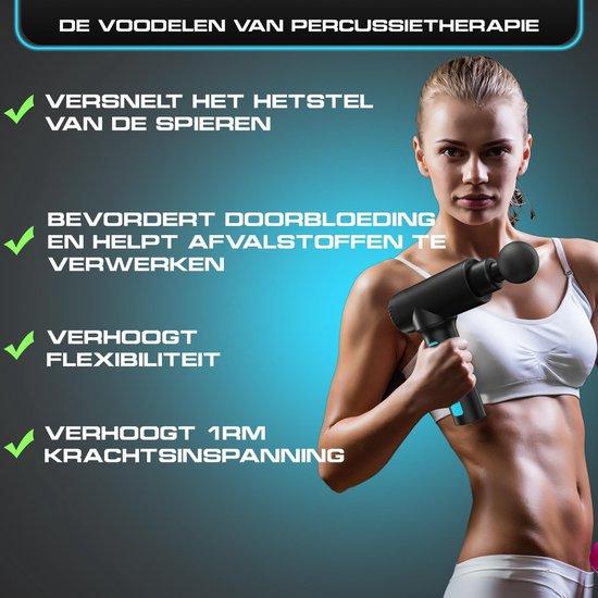Sanbo® - Medische/fitness Massage Gun - Professioneel en Krachtig - Inclusief App