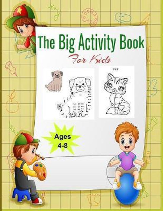 The Big Activity Book for kids
