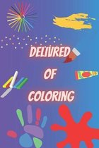 delivred of coloring