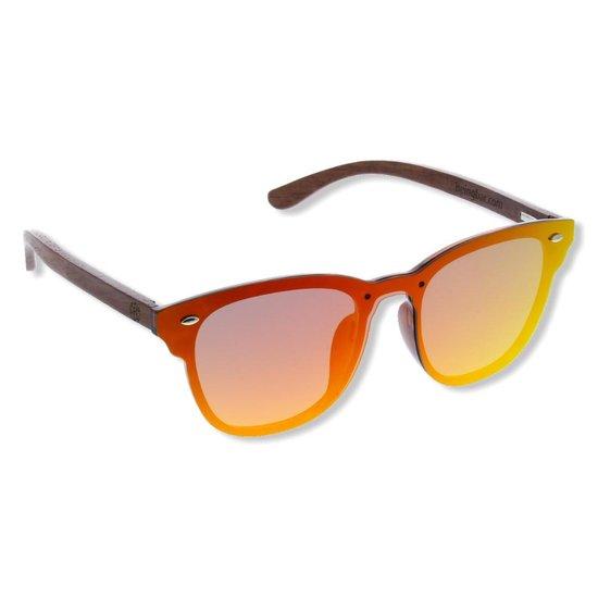 "BEINGBAR Eyewear ""Model 18"" Sustainable Wooden Sunglasses"