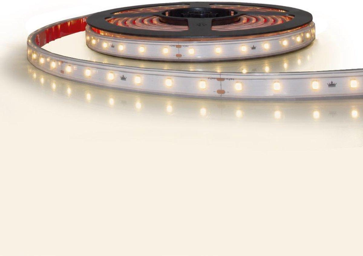 10 meter led strip constant current warm wit waterdicht - 3000 Kelvin - 600 leds 24V