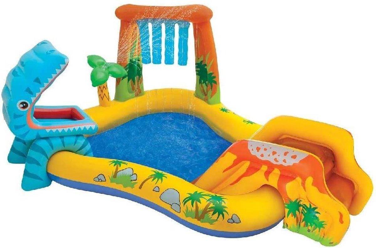 Intex Dino Waterpark | Opblaaszwembad Centre | Waterspeelpark | Water Play Centre