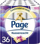 Page toiletpapier - Kussenzacht wc papier - 3-laags - voordeelverpakking - 36 rollen