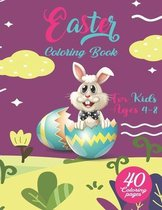 Easter Coloring Book for Kids Ages 4-8