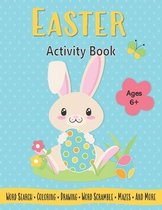 Easter Activity Book For Kids Ages 6-8