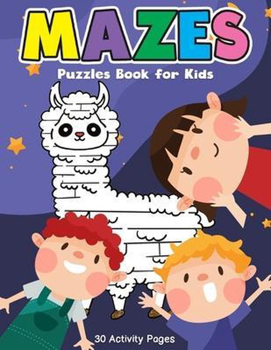 Mazes Puzzles Book for Kids