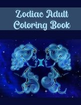Zodiac Adult Coloring Book