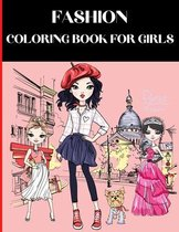 Fashion Coloring Book For Girls
