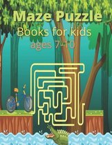 Maze Puzzle Books for kids ages 7-10