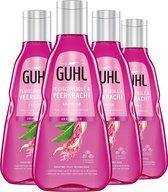 4x Guhl Pluiscontrole & Veerkracht Shampoo 200 ml