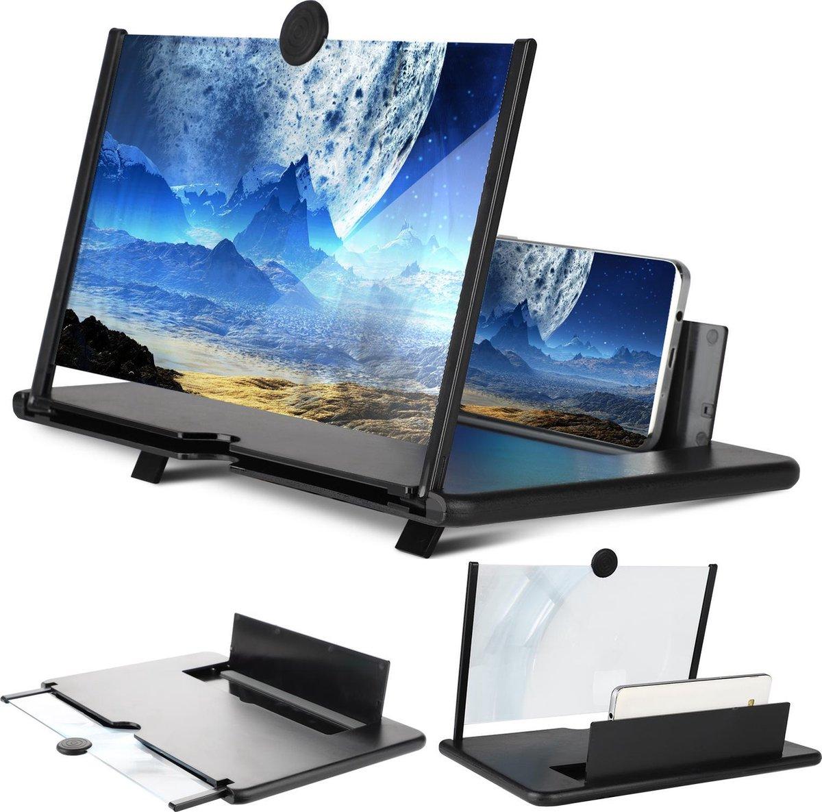 Beeldscherm Vergroter HD - Telefoon bioscoop - Schermvergroter - Thuisbioscoop - 3D - Smartphone Ver