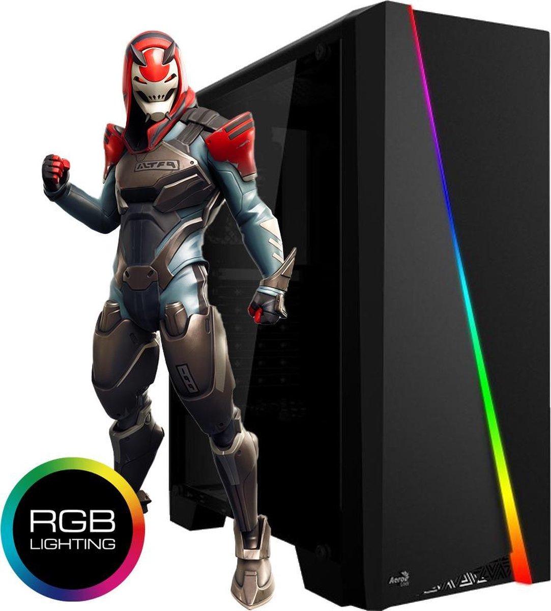 AMD Ryzen 5 | Geforce GTX 1030 | Game PC | 16 GB ram | 240 GB SSD | Geschikt voor: Fortnite, Minecraft, Sims 4 en League of Legends