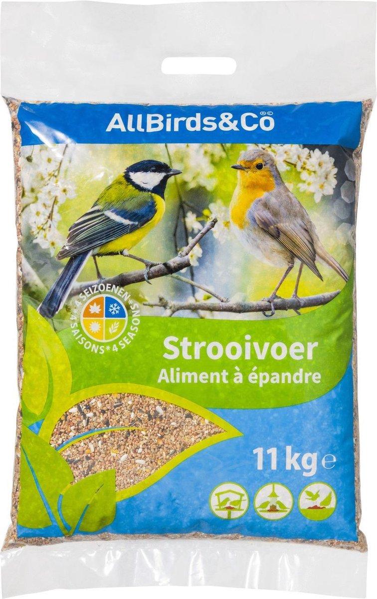 Allbirds&Co Strooivoer Vogels - Voer - 11 kg