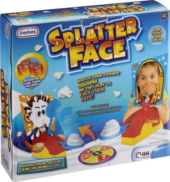 Thumbnail van een extra afbeelding van het spel Splatter face - slagroom spel | actiespel