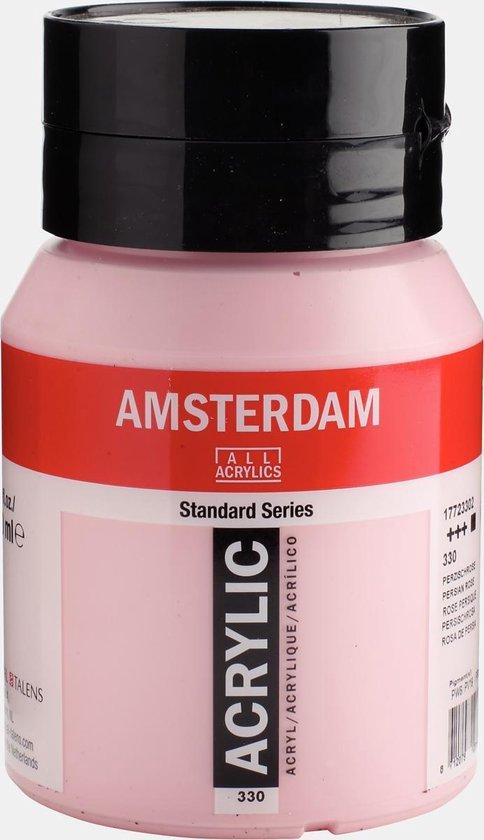Amsterdam Standard Acrylverf 500ml 330 Perzischroze