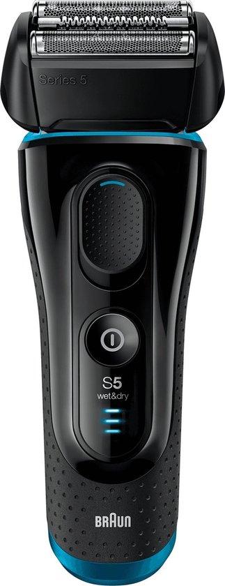 Braun Series 5 5140S -  Scheerapparaat - Zwart & Blauw